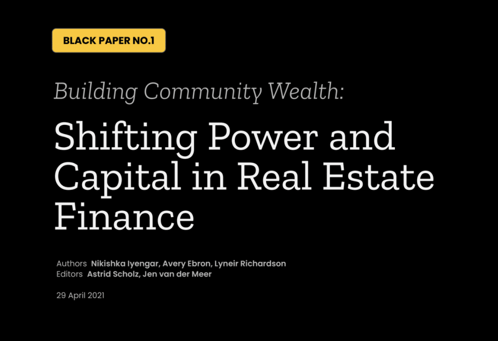 Shifting Power and Capital in Real Estate Finance